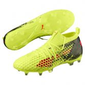 Puma - Future 18.2 Netfit FG/AG Football Boots Men fizzy yellow red blast puma black