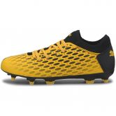 Puma - Future 5.4 FG/AG Youth Fußballschuhe Kinder ultra yellow puma black