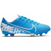 Nike - Mercurial Vapor 13 Academy FG/MG Soccer Shoe Kids blue hero white-obsidian