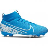 Nike - Mercurial Superfly 7 Academy FG/MG Jr. Soccer Shoe Kids blue hero white-obsidian