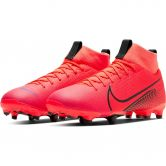 Nike - Mercurial Superfly 7 Academy FG/MG Jr. Fußballschuhe Kinder laser crimson black