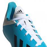 adidas X 19.4 IN Fußballschuhe Kinder bright cyan core black shock pink
