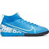 Nike - Mercurial Superfly 7 Academy IC Soccer Shoe Kids blue hero white-obsidian