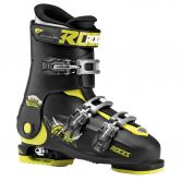 Roces - Idea Free Skischuh verstellbar L Kinder black lime