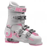Roces - Idea Free Skiboot adjustable L Kids white deep pink