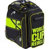 Head - Rebels Heatable Skischuhtasche anthrazit neon gelb