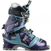 Scarpa - Telemark T2 Eco 75mm  Damen bourgogne polar blue