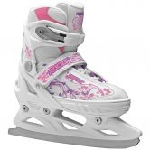 Roces - Jokey Ice Skates Girls white pink violet