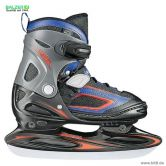 Balzer - Ice Skates Fever Vario Tiger Kids white black blue