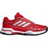 adidas - Barricade Club Clay Tennisschuhe Herren scarlet matte silver footwear white