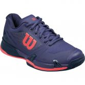 Wilson - Rush Pro 2.5 Clay Court Damen astral aura evening blue fiery coral