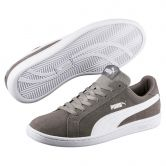Puma - Smash SD Herren steel grey puma white