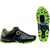 Northwave - Spider Plus 2 Mountainbike Shoe black yellow fluo