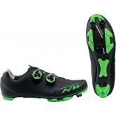 Northwave - Rebel 2 Mountainbike Shoes black green