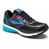 Brooks - Ghost 10 GTX W Laufschuh Damen black peacock blue hollyhock