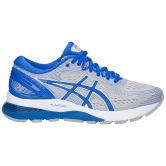ASICS - GEL-Nimbus 21 Lite-Show Running Shoes Women mid grey illusion blue