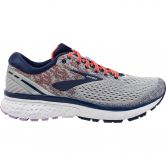 Brooks - Ghost 11 Running Shoes Women grey blue coral