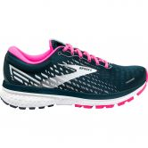 Brooks - Ghost 13 Running Shoes Women reflective pond pink ice