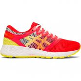 ASICS - RoadHawk FF 2 Shine Running Shoes Women laser pink sour yuzu