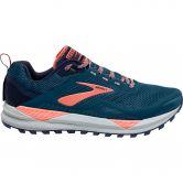 Brooks - Cascadia 14 Trail Running Shoes Women desert flower navy grey