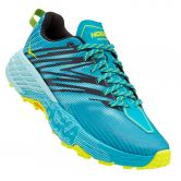 HOKA - Speedgoat 4 Laufschuh Damen capri breeze angel blue