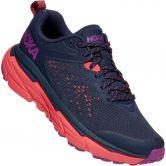HOKA - Challenger ATR 6 Trail Running Shoes Women black iris hot coral