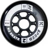 K2 - Speed Wheel 90mm 85A (8 Pack)