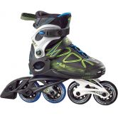 Fila - Wizy Inline Skate Kids black lime blue