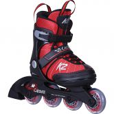 K2 - Cadence Kinder Inlineskate black grey red