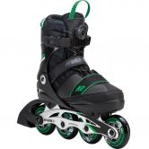 K2 - SK8 Hero Boa Alu Kids Inline Skate black green