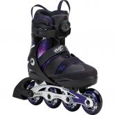 K2 - Cham Boa Alu Youth Kids Inline Skate black purple