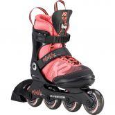 K2 - Marlee Pro Inlineskate Mädchen schwarz pink