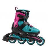 Rollerblade - Microblade G Inline Skate Kids pink emerald green