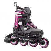 Rollerblade - Maxx G Skates Kinder grau pink