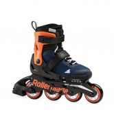 Rollerblade - Microblade G Inlineskate Kinder midnight blue warm orange