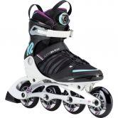 K2 - Alexis 84 Boa® Inline Skate Women black white turqoise
