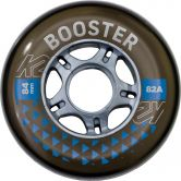 K2 - BOOSTER 84 MM 82A 8-Wheel Pack W ILQ7 Rollen-Set schwarz