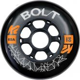 K2 - BOLT 90 MM 85A 4-Wheel Pack Rollen-Set schwarz