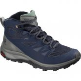 Salomon - OUTline Mid GTX® Herren medieval blue castor grey green mi