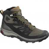 Salomon - OUTline Mid GTX® Herren black beluga capers