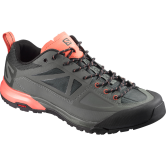 Salomon - X Alp Spry Women castor grey/ beluga living coral