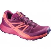 Salomon - SENSE RIDE Damen sangrial living coral virtual pink
