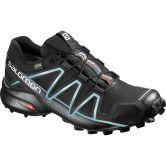 Salomon - Speedcross 4 GTX Laufschuh Damen black metallic bubble