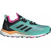 adidas - Terrex Agravic Flow Trailrunning-Schuhe Damen acid mint core black screaming pink
