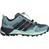 adidas - Terrex Skychaser GTX Trail Running Shoes Women ash grey core black clear mint
