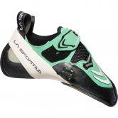La Sportiva - Futura Kletterschuh jade green white