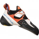 La Sportiva - Solution Kletterschuh Damen white lily orange
