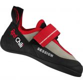 Red Chili - Session E Kids bouldering shoe red white
