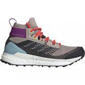 adidas - Terrex Free Hiker Wanderschuhe Damen light brown carbon ash grey