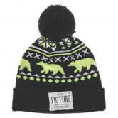 Picture - Racoon Beanie black
